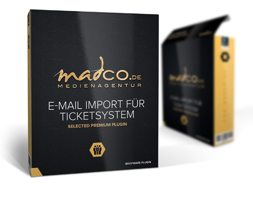 E-Mail Import für Shopware Ticketsystem
